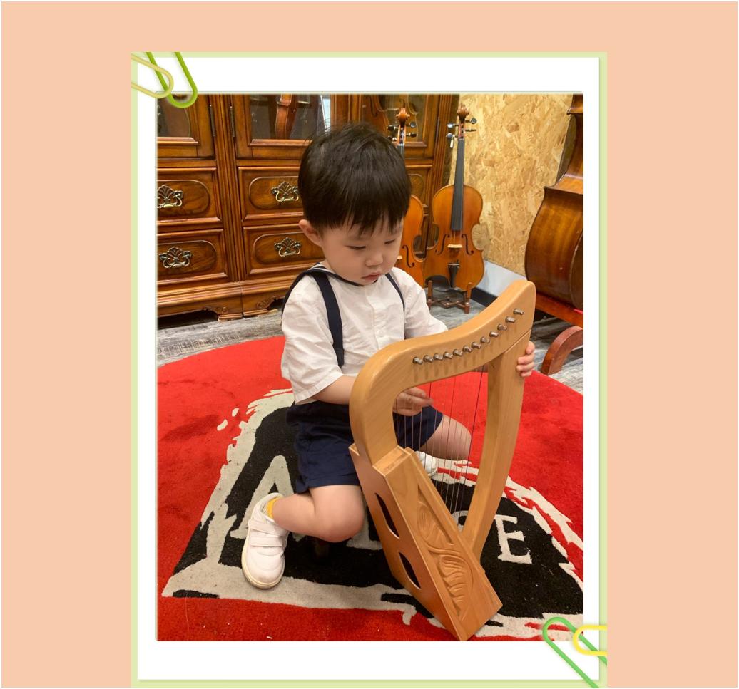 寶寶早期樂器體驗課(3 - 5歲)