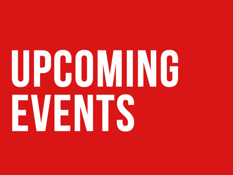 Upcoming Events 2020-21