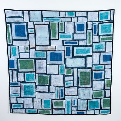 Ode to Klee, batik on linen, 60 inches x 60 inches.jpg