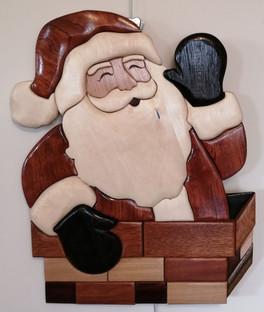 Père Noël dans la cheminée #1