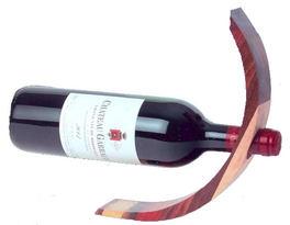 Présentoir à bouteille de vin