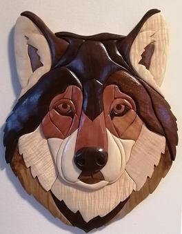 Tête de loup