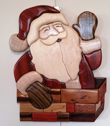 Père Noël dans la cheminée #2