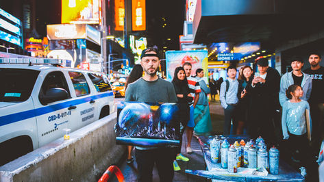 Times Square Street Artist
