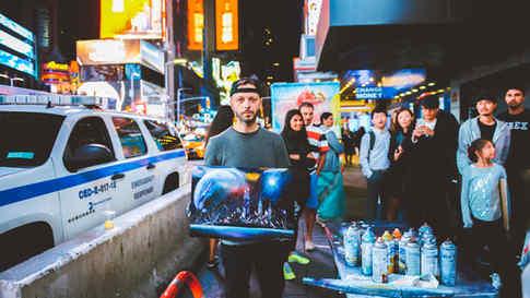 Times Square Street Artist