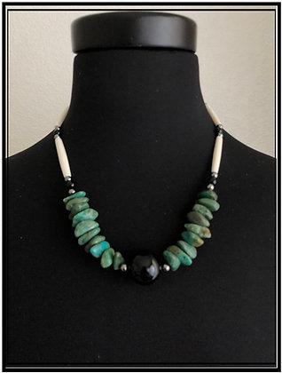 Black Onyx & Turquoise