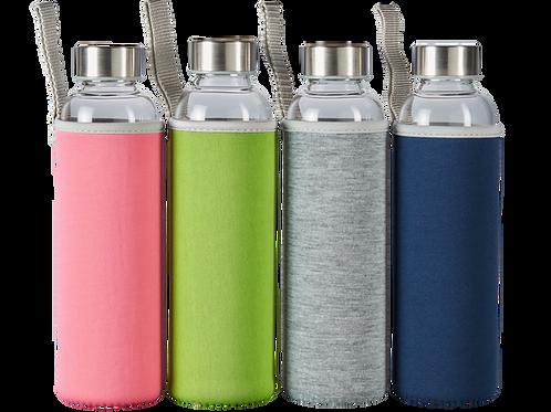 Borosilikat Glas Trinkflasche