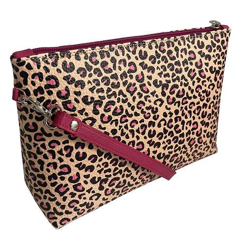 """Shoulder Handbag """"Rosa"""" Leopard Collection"""