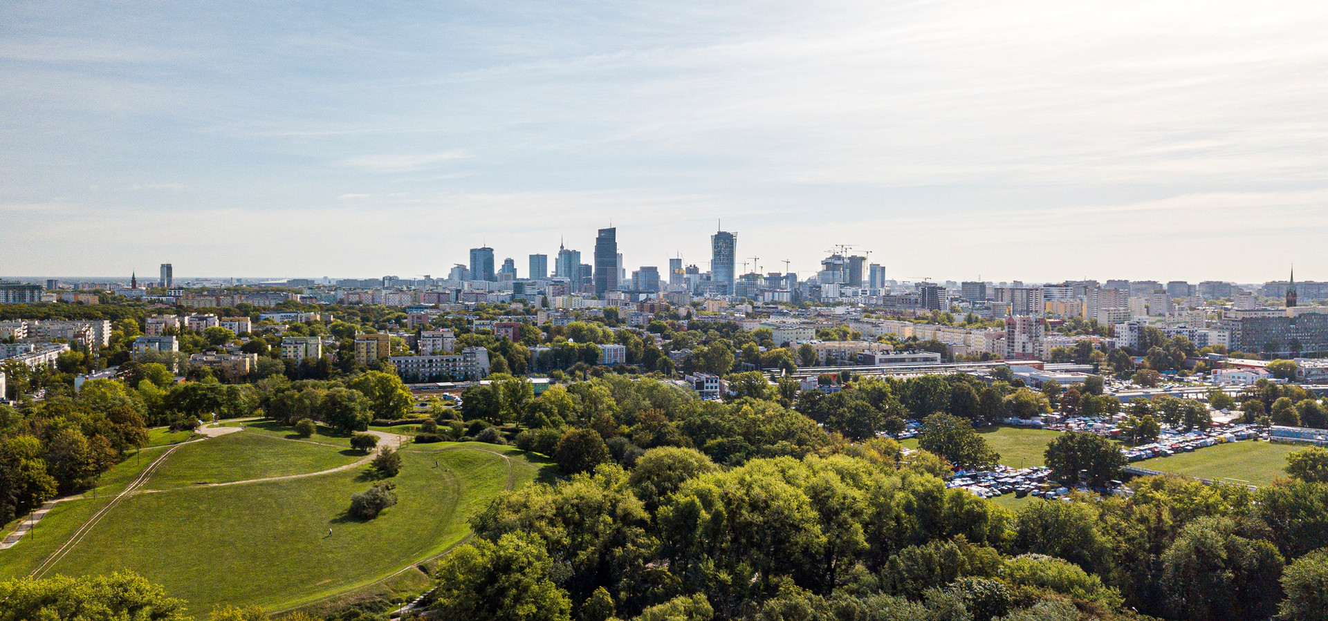 Park Moczydło w Warszawie