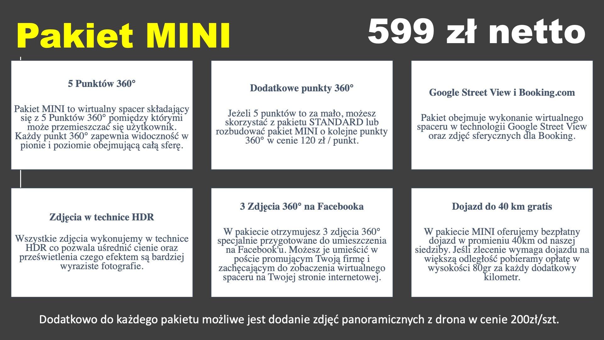 Pakiet Mini