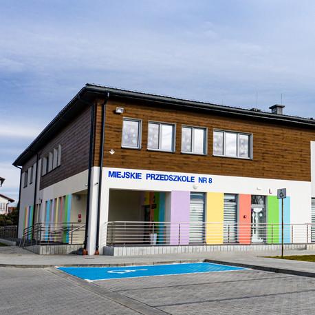 Przebudowa i rozbudowa Przedszkolanr 8 w Dębicy