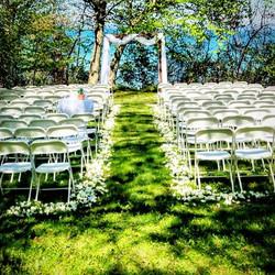 Lake Michigan wedding reception! _#rusti