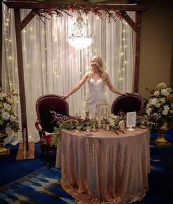 Green Bay Wedding Show! #rusticbwr #rust