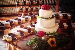 Dessert display!