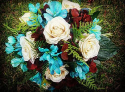 Hand painted bouquet!