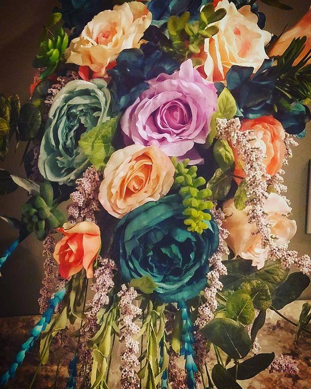 Handmade silk bouquets