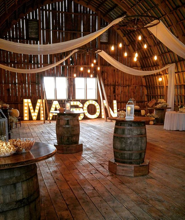 Barn wedding!