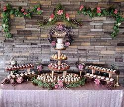 In a sea of weddings, a woodland boho ba