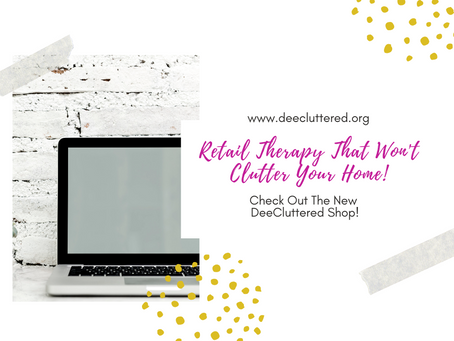 Retail Therapy That Won't Clutter Your Home!