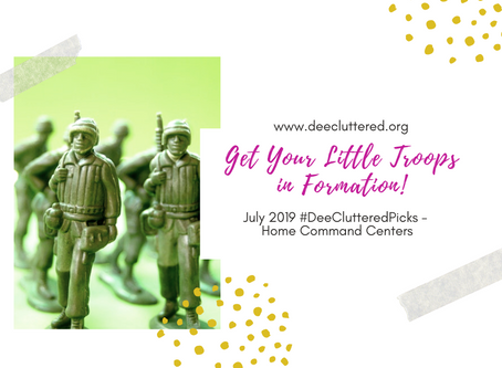 Get Your Little Troops in Formation!