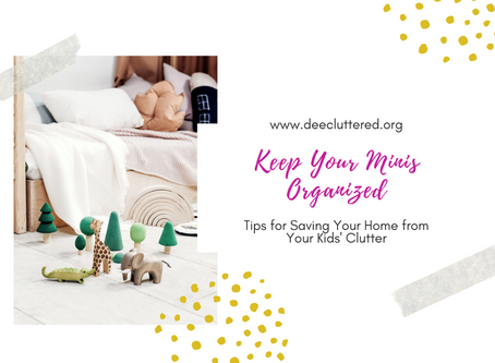 Keep Your Minis Organized!