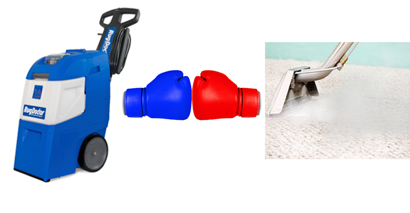 Rug Doctor vs Professional Carpet Cleaning Equipment