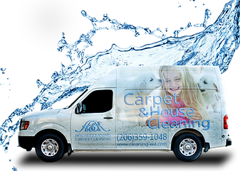 A&K House Cleaning Carpet Cleaning Van in Renton, WA