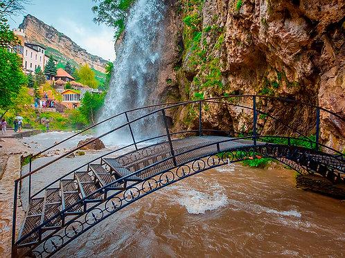 Экскурсия из Кисловодска - Медовые водопады