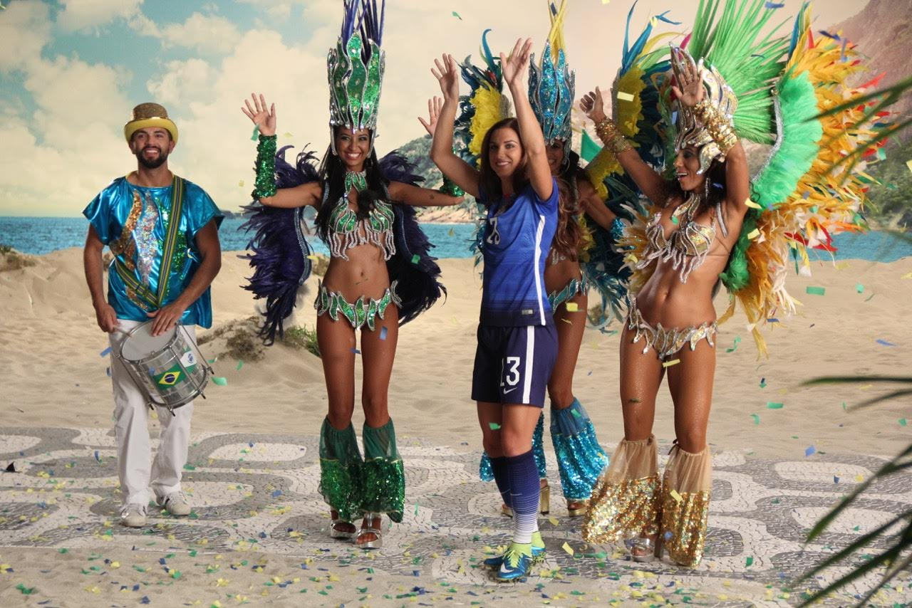 Samba Dancer for NBC Commercial
