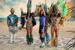 Samba Dancer for NBC Commercial