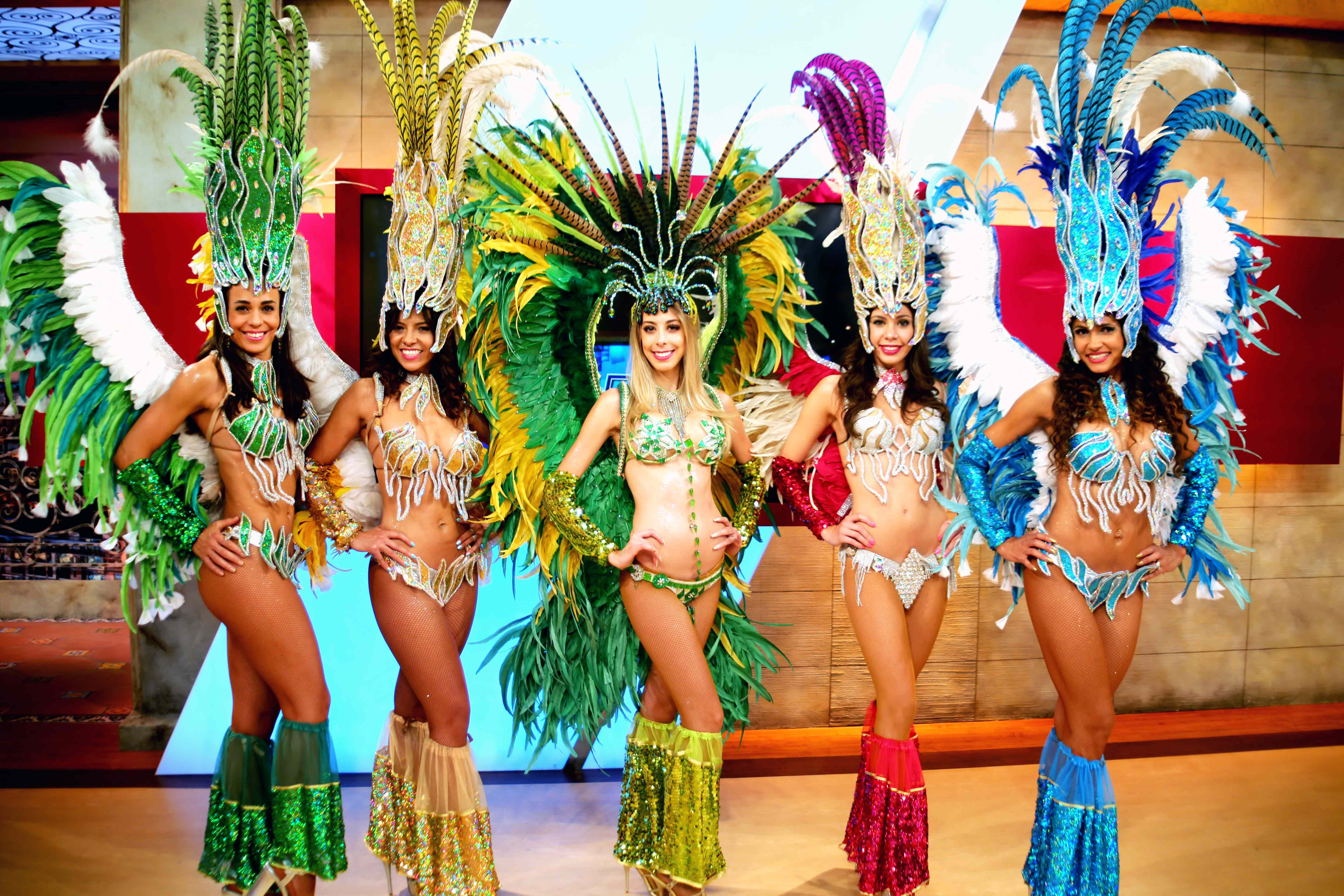 Samba Dancer for Commercial