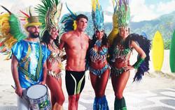 Samba Dancer for Olympic NBC Ad.