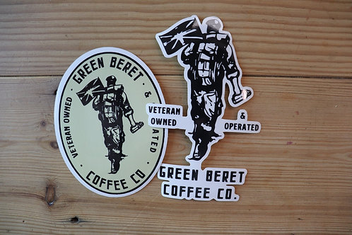 GBCC Stickers - Two Pack