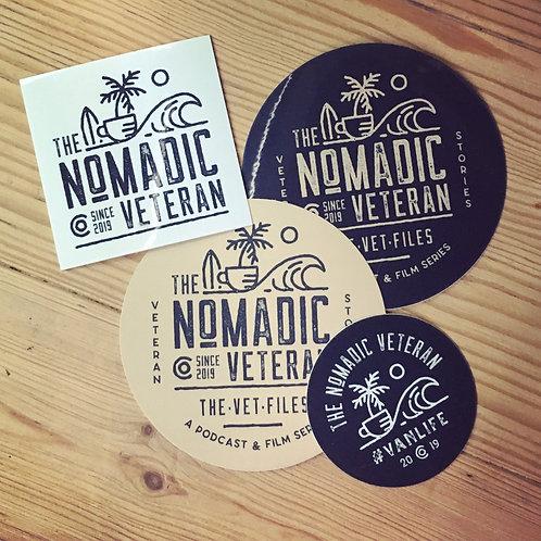 The Nomadic Veteran Sticker Pack