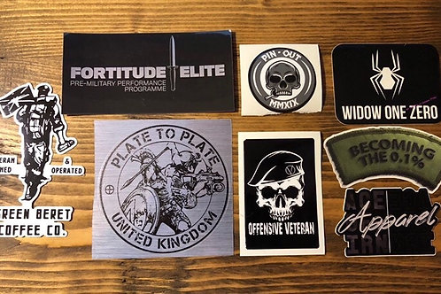 The Big Brand Sticker Pack Mk IV