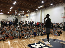 Draymond Green Grindweek Youth Basketball Camp, Sept 2018
