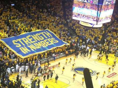Our Championship Week with the Golden State Warriors