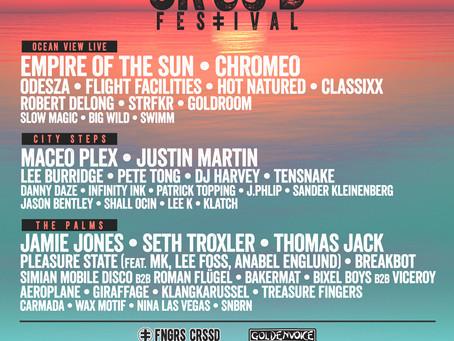 FNGRS CRSSD & GOLDENVOICE: CRSSD Fest: Chromeo, Jamie Jones, Maceo Plex, Pete Tong, Seth Troxler, DJ