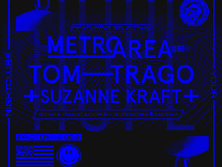 Lights Down Low with Metro Area, Tom Trago and Suzanne Kraft at Lot 613