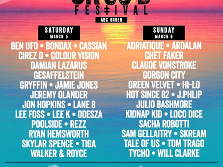 CRSSD 2016 Lineup Dominates the Spring Dance Music Festival Circuit in Southern California.