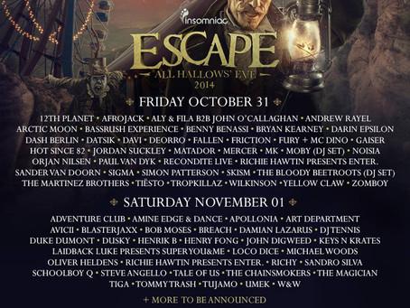Insomniac's Escape: All Hallows Eve #EscapeSoCal