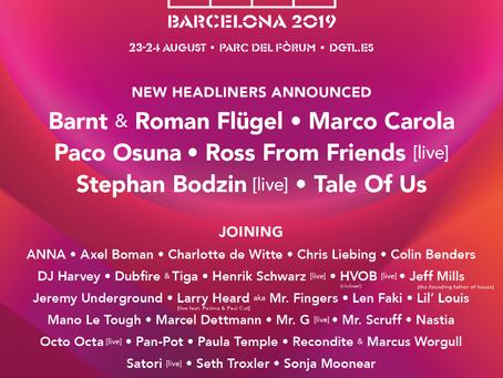 DGTL Barcelona 2019 Final Line Up Announced!