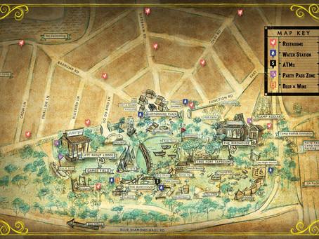 Dirtybird Campout Announces Set Times & Camp Map
