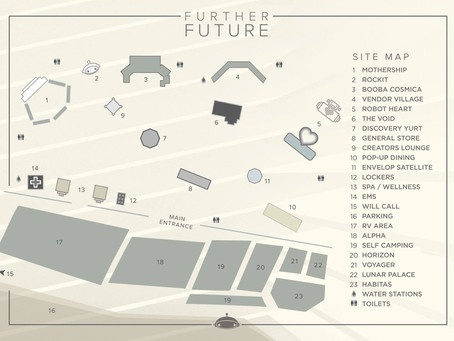 Further Future 002: Site Map