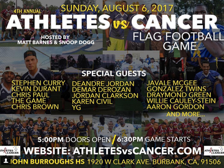 Matt Barnes and Snoop Dogg Present the Athletes vs. Cancer 4th Annual Celebrity Flag Football Game R