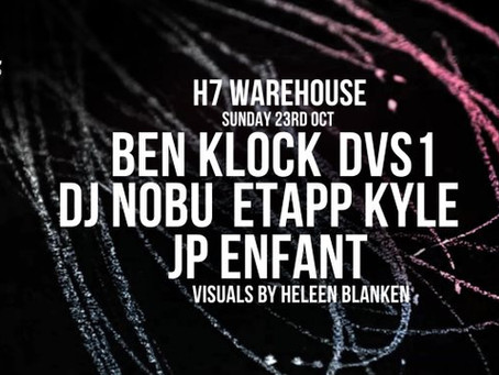 Ben Klock Presents: Nachtdigital and Klockworks at Amsterdam Music Event (ADE)