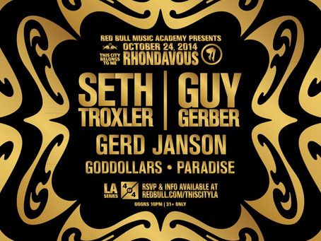 Red Bull Music Academy Presents: Rhondavous with Seth Troxler & Guy Gerber