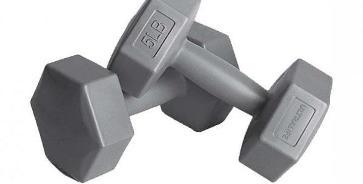 PTEC-ULD10 Plastik Dumbell Set 2.5KG - GRAY Kopyası