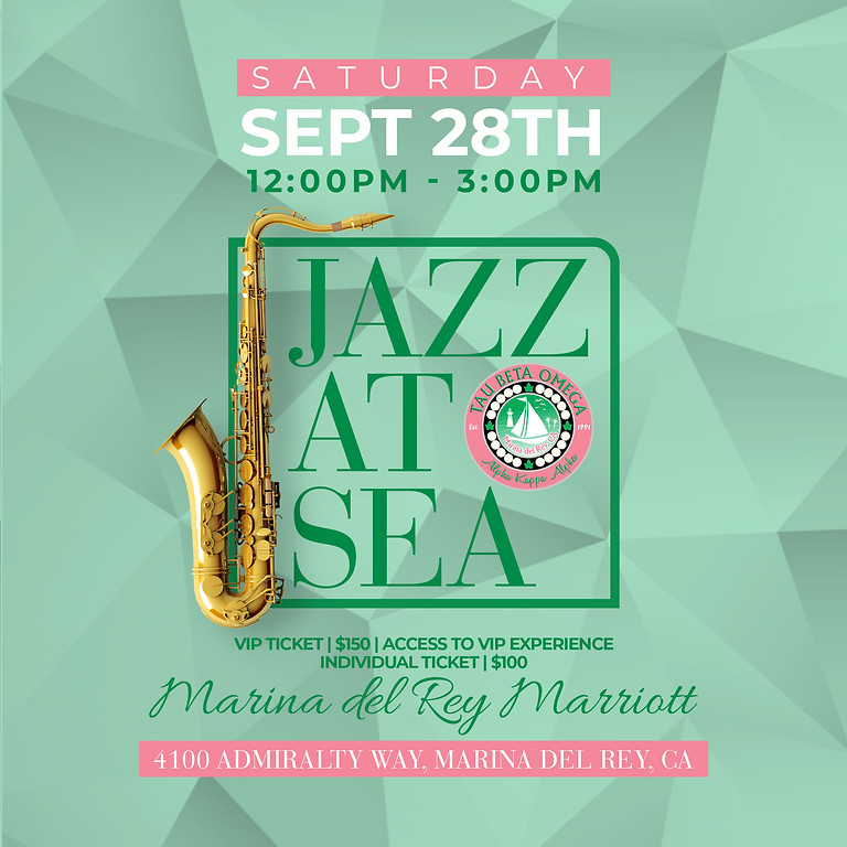 Jazz at Sea Event Tickets 2019