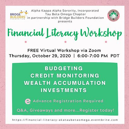 T3 Bridge Builders Financial Literacy FI